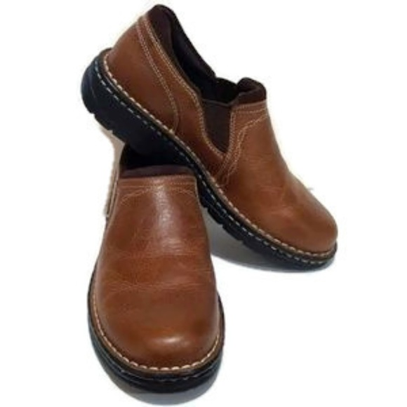 Ariat Loden Leather Slip On Shoes Size 6.5B